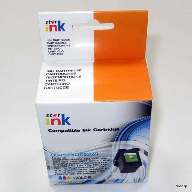 HP22 XL, C9352 kompatibilní náplň