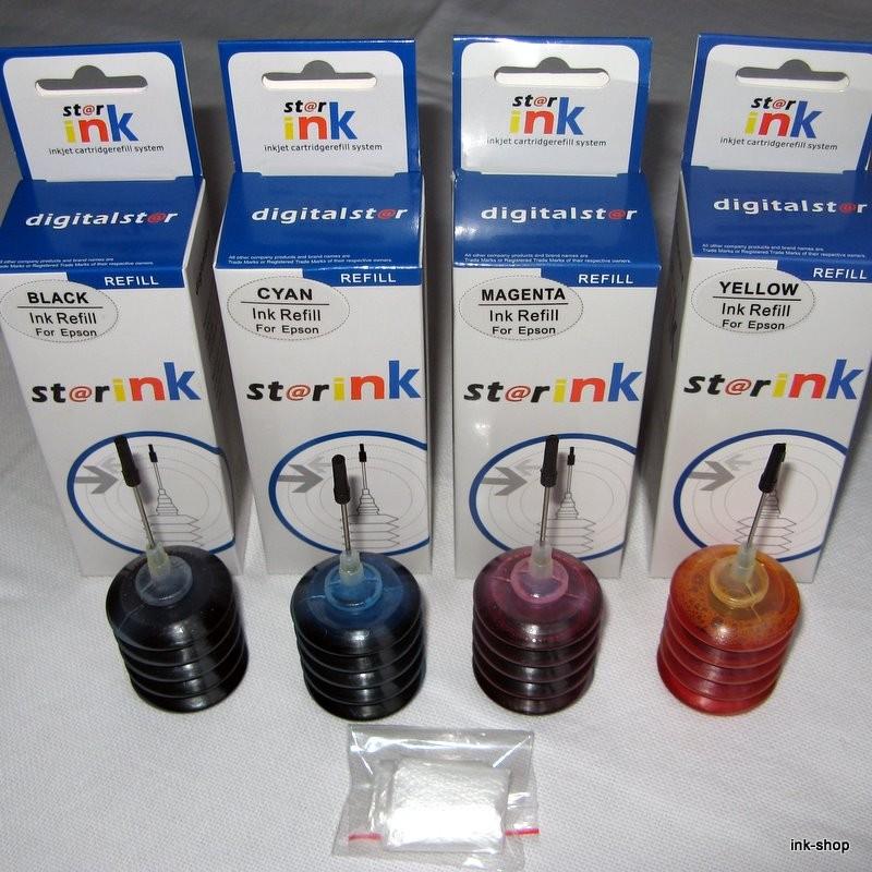 Sada inkoustů pro Epson 4x 25ml - PROFI