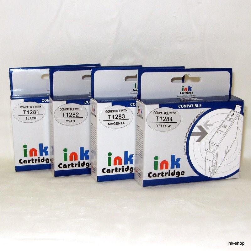 Plnitelné náplně T1281, T1282, T1283, T1284, včetně inkoustu