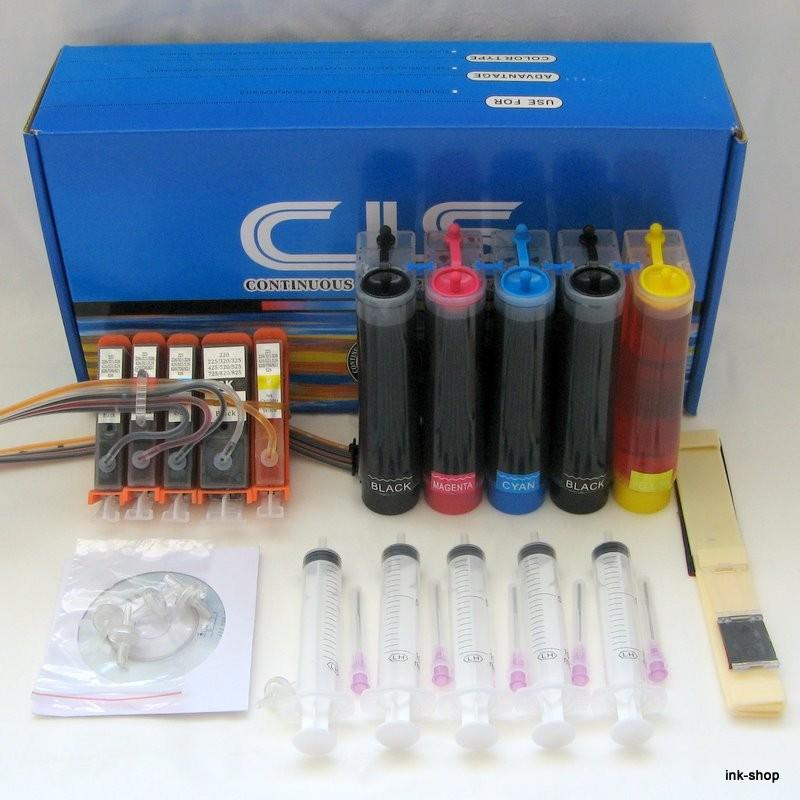 CISS / SPDI PRO PGI-525BK, CLI-526BK, CLI-526C, CLI-526M, CLI-526Y