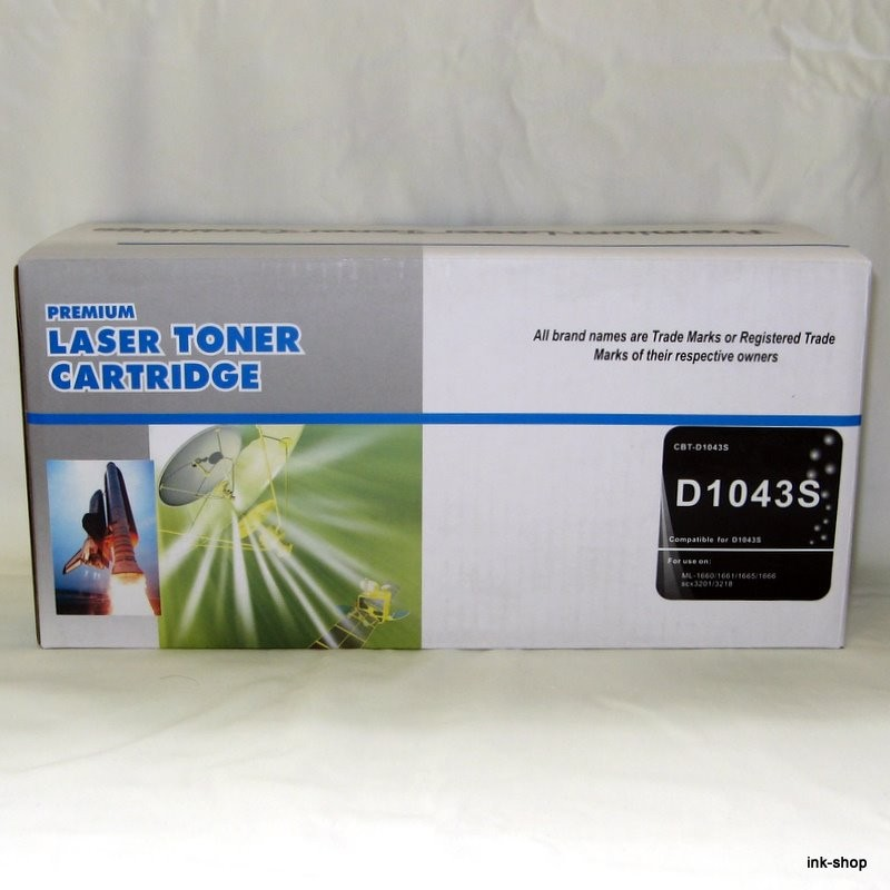 Samsung, MLT-D1042S, Black, kompatibilní toner