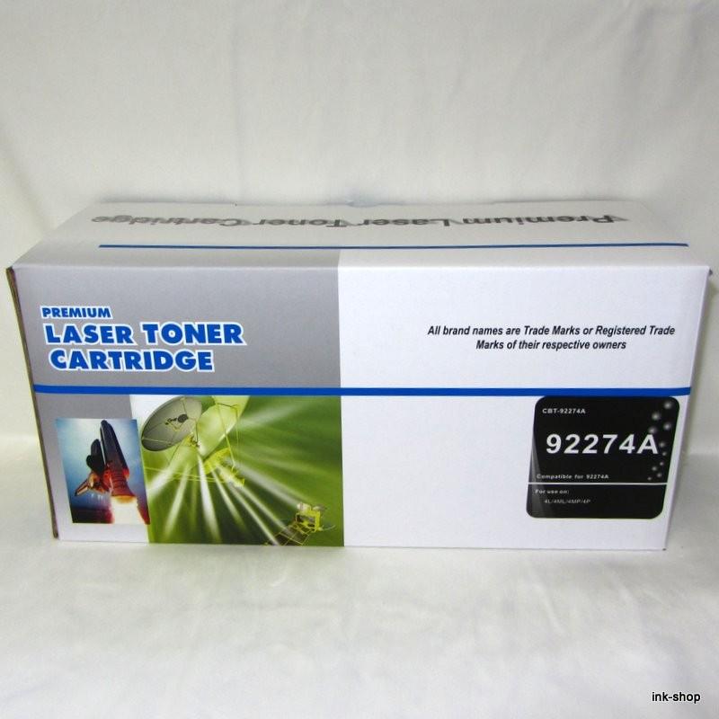 HP 74A, HP 92274A, Canon EP-P, Black, kompatibilní toner