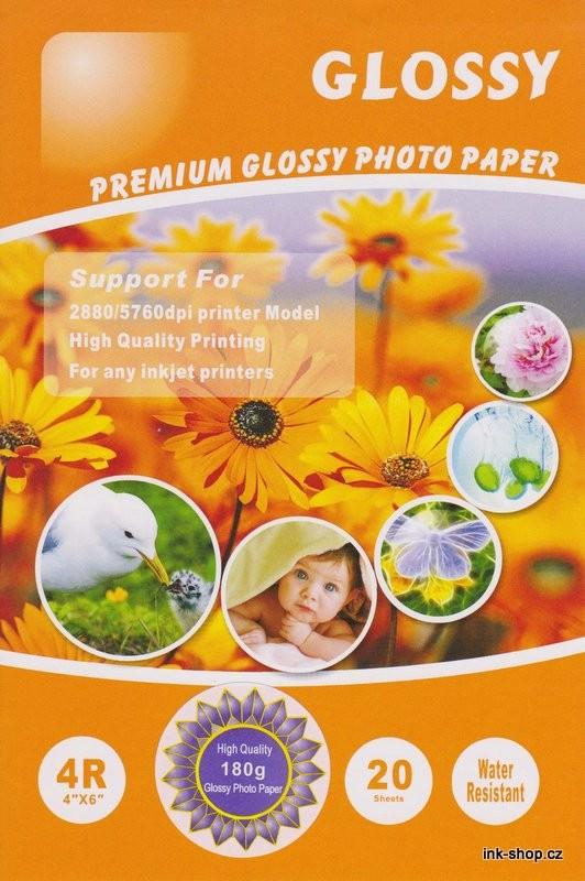 Foto papír A6, 10x15 cm, 180gr, 20ks