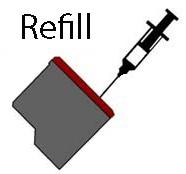 HP, Black, černá, plnění, reffil, renovace