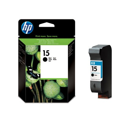 Hewlett-Packard C6615DE, černá cartridge (No 15, HP15)