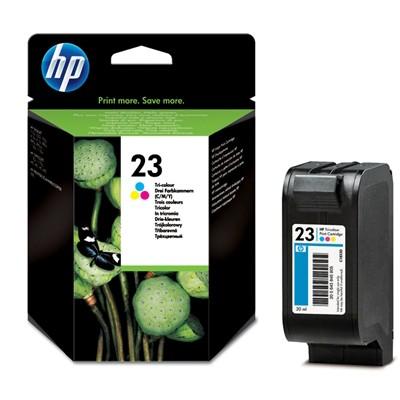 Hewlett-Packard C1823DE, barevná cartridge (No 23, HP23)