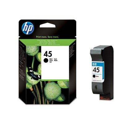 Hewlett-Packard 51645AE, černá cartridge (No 45, HP45)