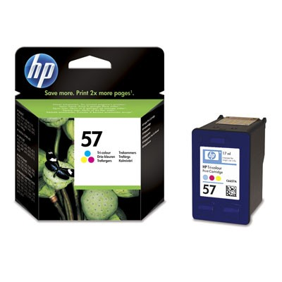 Hewlett-Packard C6657AE, barevná cartridge (No 57, HP57)