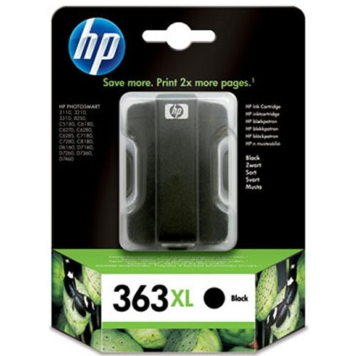 Hewlett-Packard C8719EE, černá cartridge (No 363, HP363)